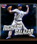 Richard Salazar<br/>Baseball Card